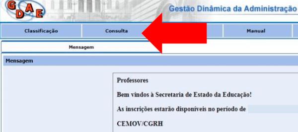 Consulta GDAE