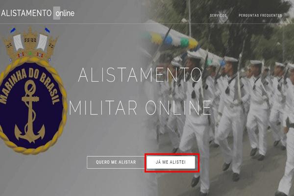 Como acompanhar o meu alistamento militar?