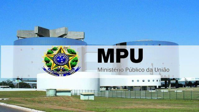 Como funciona o Concurso MPU 2020?