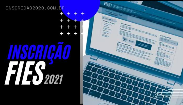 Inscrição FIES 2021